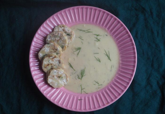 Koprovka czyli czeski sos koperkowy